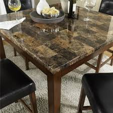 amazon com dorel living andover faux marble counter height dining