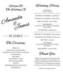 tea length wedding program template tea length wedding program template pink by weddingprintablesdiy