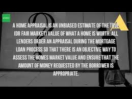 Home Appraisal Value Estimate by What Is An Appraisal On A House