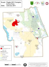 Map Of Volusia County Flagler County Fires All Locations Latest Acreage Maps And