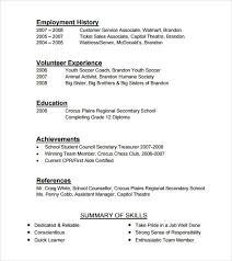 cashier resume format unforgettable part time cashiers resume