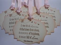 Wishing Tree Cards Vintage Inspired Baby Shower Gift Wish Tree Tags