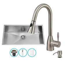 kitchen sink faucet set sinks all in one sinks the best prices for kitchen bath and