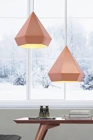Paris Pendant Light by Prism Ceiling Lamp Rose Gold Scandinavian Pastels And Diamond