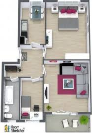 Two Bedroom House Plans by Best 25 Two Bedroom Apartments Ideas On Pinterest Two Bedroom