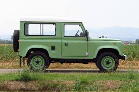 green land rover just listed 1985 land rover defender 90 five speed automobile