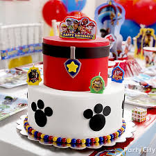 paw patrol fondant cake how to party city