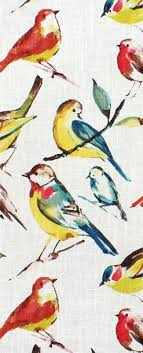 Teal Bird Curtains Richloom Birdwatcher Summer Fabric For Rooms With Yellow Coral