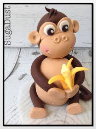 monkey cake topper toppers for boys