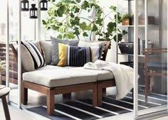 Ikea Outdoor Sofa Arholma Loveseat Outdoor Brown Beige Balconies Porch And