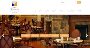 interior creations website design studiothought business