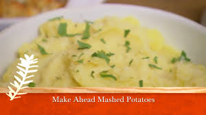 can you make mashed potatoes the night before thanksgiving make ahead mashed potatoes recipe from u0027sara u0027s weeknight meals