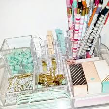 Acrylic Desk Organizers Acrylic Desk Organizers And Colorful Office Supplies Desk