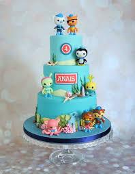 octonauts birthday cake 3 tier octonauts water birthday cake cakes makers in