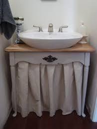 Pedestal Bathroom Vanities Diy Pedestal Sink To Vanity Omg I So Want To Do This Bathrooms