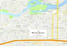 Map Of Spokane Washington Map The Michael Building