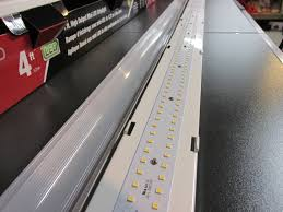 utilitech led strip light 12 ft metalux 4 ft high output led striplight 4slstp4040dd 120v review