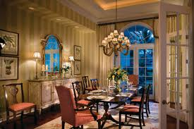 Henkel Harris Dining Room Island Flair