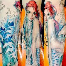 clock tattoo witch city ink custom tattoos in salem massachusetts
