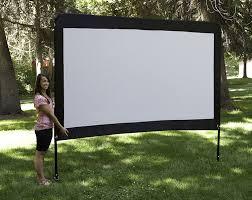 amazon com camp chef 120 inch portable outdoor movie theater