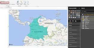 Columbia Campus Map Colombia Map Microsoft Power Bi Community