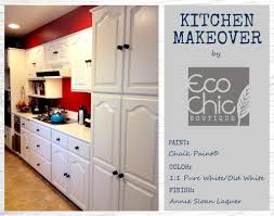 kitchen makeover with chalk paint ecochic