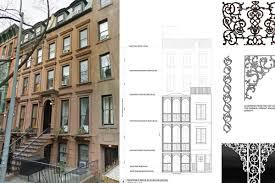 Three Story Building Brooklyn Heights House Is Getting A U0027fancy U0027 Three Story Deck