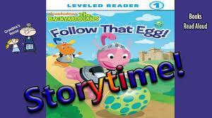 backyardigans follow egg aloud kids books aloud