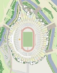 stadium site plan components for urban redevelopment