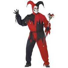 wicked jester medieval costume