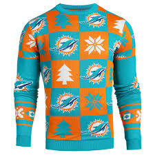 nfl sweaters miami dolphins apparel sweaters sears
