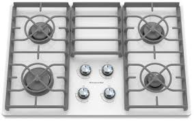 Cooktops Gas 30 Inch 30 Inch 4 Burner Gas Cooktop Architect Series Ii Kgcc506rww