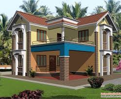 two story home designs wonderful decoration two storey house plans bhk two story home