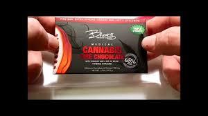thc edible bhang chocolate cannabis edible candy bar review
