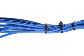 blue electric wires stock photo image of isolated connect 31669748