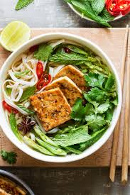 pho cuisine vegan pho with spicy tofu lazy cat kitchen