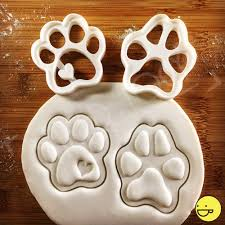 halloween fondant cutters paw prints cookie cutters biscuit cutter heart realistic paws