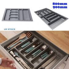 Knife And Fork Drawer Insert Cabinet Cutlery Tray Drawer Insert Drawer Organisers Utensil