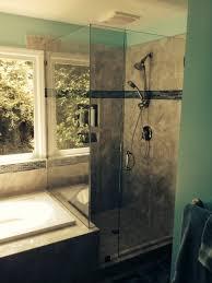 bathroom remodeling in charlotte glass shower jpg