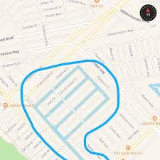 Map Of Venice Beach Los Angeles Real Estate Agent Top 5 Places To Trick Or Treat In La