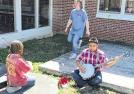 Backyard Music Banjo Mt Airy News New Blood Boosting Old Time Music