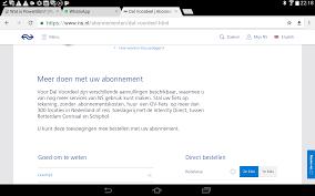 Per Direct Geld Op Rekening Toeslagvrij Reizen Met De Intercity Direct Ns