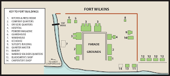 fort wilkins historic state parkmaps u0026 area guide shoreline