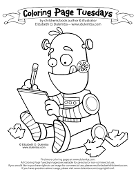 robots coloring pages download print free