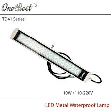 explosion proof led work light hntd 10w td41 110v 220v led metal panel light cnc machine tool