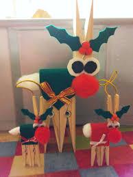 newly creative mumma wooden peg christmas reindeer