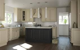 White Kitchen Cabinets With Black Island How To Select White Kitchen Cabinets With An Elegant Co