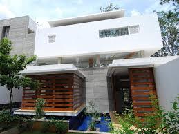 Home Exterior Design In Delhi by Modern Open Concept House In Bangalore Idesignarch Interior