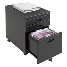 Decorative File Cabinets For The Home by Calico Designs Metal File Cabinet Black Hayneedle