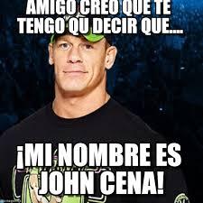 Memes De John Cena - mi nombre es john cena john cena meme on memegen